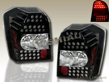 2006-2010 Dodge Caliber LED Tail Lights Black Housing