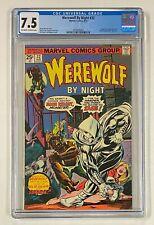 WEREWOLF BY NIGHT #32 Marvel 1975 CGC 7.5 MOON KNIGHT Origin & 1st Appearance