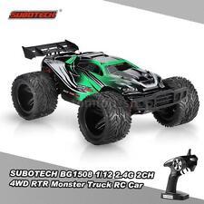 SUBOTECH BG1508 1/12 2.4G 2CH 4WD High Speed Racing Monster Truck  RC Car E7O0