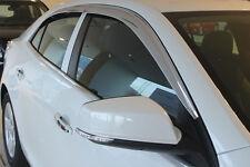 Chrome Weathershields Window Visor 4P for 2013 - 2014 Holden Malibu Sedan