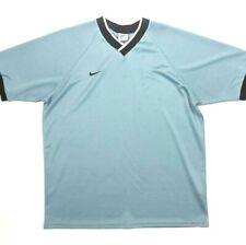 Vintage 90s Nike White Tag Made in USA Soccer Goalie Jersey V Neck Size M