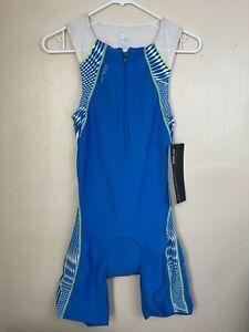 Orca Men's Tri Race Suit 226 Blue Medium
