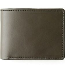 Filson Moss Bifold Wallet New in Box with Reusable Moleskin Pouch. MSRP $135