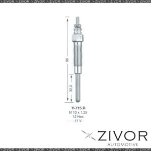 NGK GLOW PLUG For TOYOTA Y-715R *By Zivor*