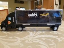 Kids Transport Car Carrier Semi Truck Toy With 3 Cars And 16 Slots. Micromachine