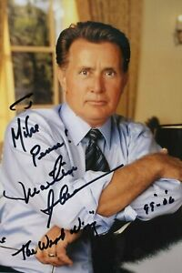 "Martin Sheen 8""x10"" Signed Color Photo Actor Autographed Picture The West Wing"