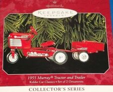 HALLMARK MURRAY TRACTOR & TRAILER KIDDIE CAR CLASSICS SERIES MIB