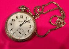 Rare Rockford Grade 370 Pocket Watch 12S 21J