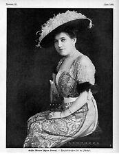 Contessa Minotto (Agnes Sorma) Historical memorabilia c.1912