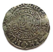More details for bohemia prague king wencezlaus ii, 1278-1305 silver 1 groschen, doubling, rare.