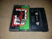 REDHEAD KINGPIN AND THE FBI - A SHADE OF RED (RARE UK CASSETTE TAPE)