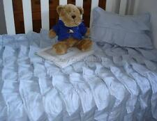 Boys Soft Blue Hamptons Boy Cot Crib Doona Duvet Quilt Cover Cushion Set New