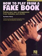 How To Play From A Fake Book Learn to Play Teach Yourself Piano Solo Music Book