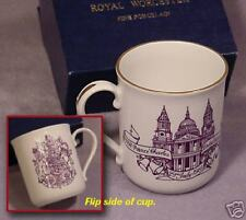 Commemorate Porcelain Cup-Charles & Diana-Gift Boxed