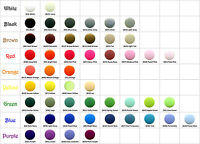 100 Round Shaped KAM Plastic Resin Snaps Craft Baby Diaper - Choose Your Color