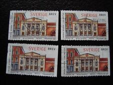 SUEDE - timbre yvert et tellier n° 2024 x4 obl (A29) stamp sweden (E)