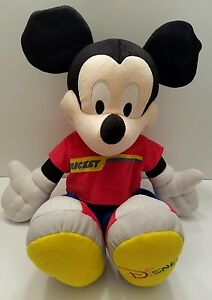2002 Disney Mickey Mouse Plush Stuffed Doll Clubhouse Mousekateer Fisher Price