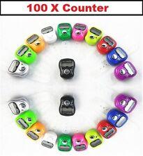 100 x Digital FINGER RING TALLY Counter Row Counter tasbeeh JOB LOT INGROSSO