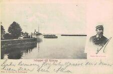 Sjotorp,Sweden,View of Inlet & Captain Henrik Hansson,Used,1907
