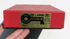 Key Imports Brass N SCALE Steam LOCOMOTIVE 4-8-8-4 BIG BOY UP #4000 Serial #34