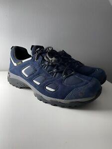 Jack Wolfskin Vojo Hike 2 Texapore Walking Hiking Shoes Blue Size UK 7