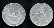 RWANDA   1 FRANC 1985  SUPERBE