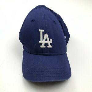 VINTAGE New Era Los Angeles Dodgers Hat Cap Stretch Fit Toddler Child Blue White