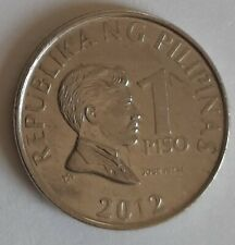 1 Piso 2012 Philippines Coin KM#269a