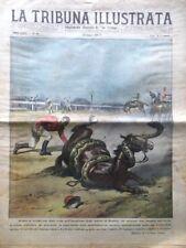 La Tribuna Illustrata 28 Ottobre 1928 Ernesto Maserati Mario Borzacchini Nemi