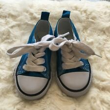 Koala Kids Toddler Blue Lace Shoes Size 5
