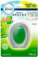 (6)Febreze Small Spaces Original Gain Scent Air Freshener 0.25 oz Liquid
