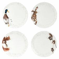 Royal Worcester Set of 4 Wrendale Dinner Plates - 26.7 cm / 10.5 inch