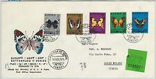 64970 - ETHIOPIA - POSTAL HISTORY - FDC COVER: Michel # 806/10 1975  Butterflies