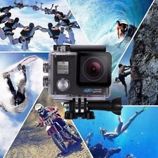 NEW 4K Sports Action UltraHD SONY Camera Waterproof BLACK 6MP WiFi 170 Degree
