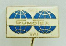 Gumotex 20 Jahre 1950 1970 Abzeichen Pin
