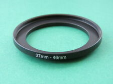 37mm-46mm Stepping Step Up Male-Female Filter Ring Adapter 37mm-46mm