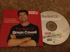 THE BEST OF SIMON COWELL MUSIC CD 10 Tracks Album Classic Songs Promo Pop