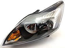 *NEW* HEAD LAMP HEADLIGHT BLACK for FORD FOCUS LV XR5 5DR 2008-2011 LEFT SIDE LH