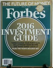 Forbes December 28 2015 2016 Investment Guide The Fintech 50 FREE SHIPPING sb