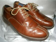 COLE HAAN  Brown Leather Split Toe Casual Oxford Sturdy Men's US 10.5M EXCELLENT