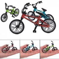 Skate Finger Bike Mini Skateboard Die Cast Set Deck Toy Child Kid Wheel Gift SS