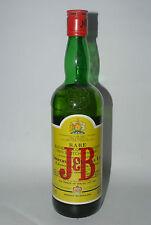 WHISKY J&B FINEST BLENDED SCOTCH WHISKY RARE AÑOS 60/70 75cl.