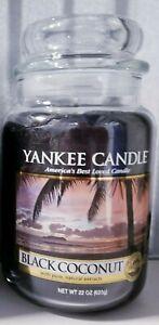Yankee Candle Black Coconut  Large 22 oz.