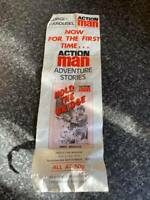 VINTAGE CORGI-CAROUSEL ACTION MAN ADVENTURE STORIES LEAFLET FAIR/GOOD FOR AGE