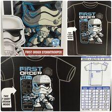 Funko Star Wars First Order Stormtrooper Pop! Tees T-Shirt Size: 2XL (XXL)