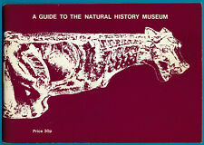 Gids 1974 Natural History Museum London