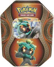 Cards Carte Pokemon Tin Collezione Poteri Misteriosi Marshadow GX 4 Buste