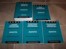 2001 Dodge Dakota Shop Service Repair Manual Set Sport SLT 2.5L 3.9L 4.7L 5.9L