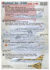 Print Scale Decals 1/48 SUKHOI Su-24M FENCER Russian Jet Fighter