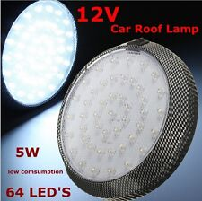 5W 12V 6500K Cold White LED RV Caravan Trailer Boat Interior Ceiling Dome Light